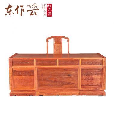 香脂木国色天香书桌198*87*80