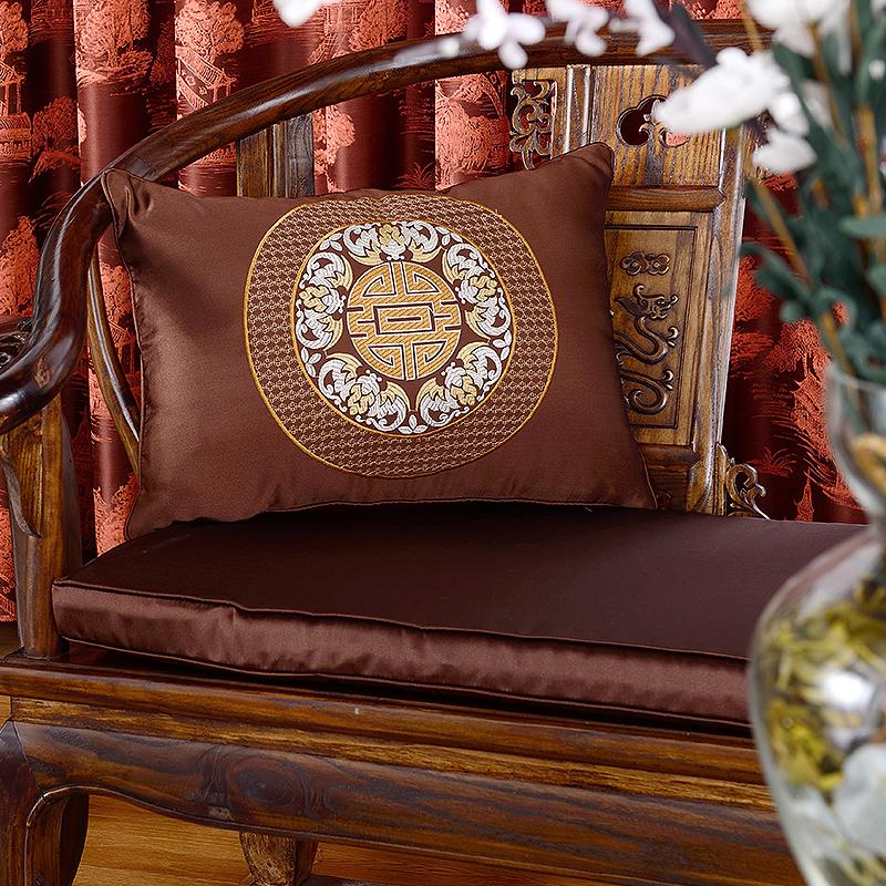红木沙发家具靠枕坐