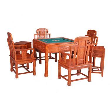 非洲花梨麻将桌(含机芯)98*98*80